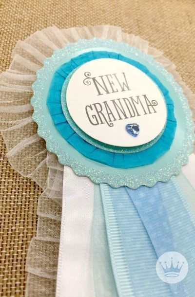 Every new grandma feels like an award winner! If you're about to experience grand-motherhood for the first time (or know someone who is), you're gonna need a little flair! Find this at your local Gold Crown store.