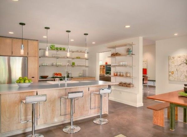 Die besten 25+ Offene küchenlayouts Ideen auf Pinterest Diner - offene wohnkchen