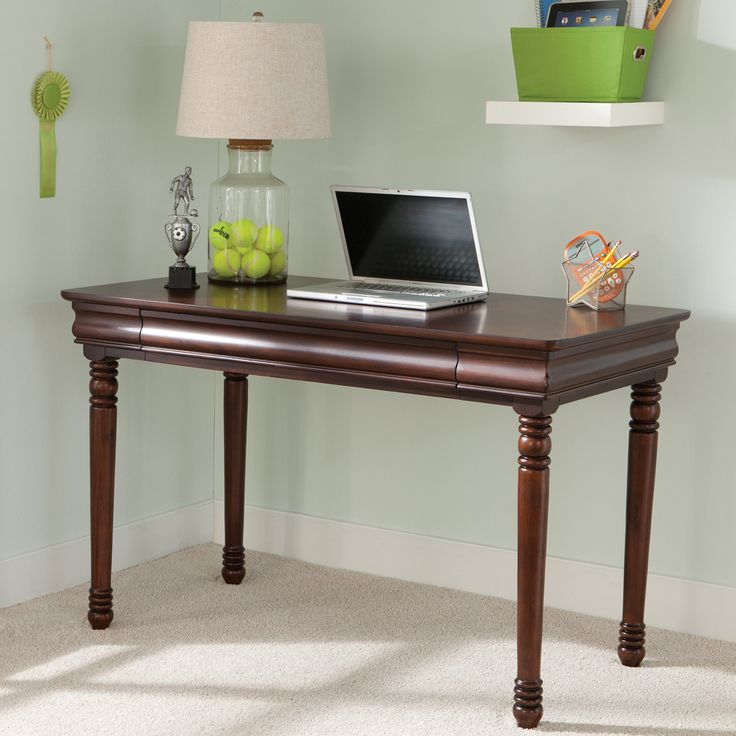 Liberty Furniture Carriage Court Youth Desk - Mahogany - 709-BR70