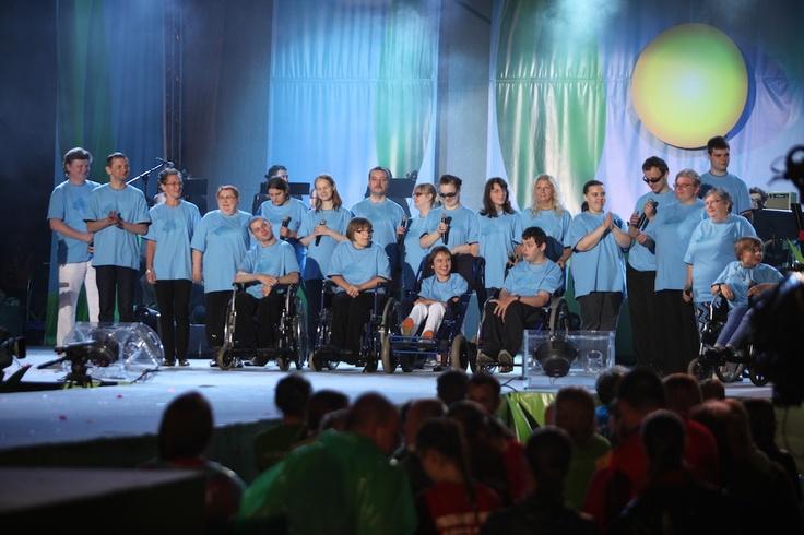 Koncert Razem #MimoWszystko z udziałem gwiazd i #NGOs, 2012 rok, wielki finał #Kraków #koncert #muzyka fot. M. Kowalski