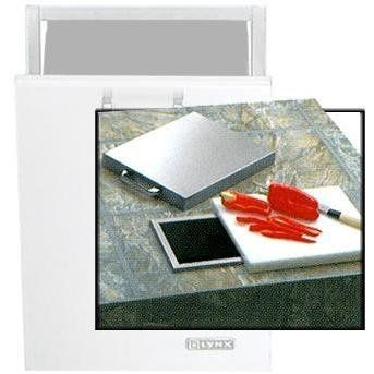Lynx Countertop Trash Chute With Cutting Board And Cover L18ts by Lynx. $299.00. Stainless steel cover with polished highlight. Commercial style slide away chopping board. Trash Chute provides convenient countertop trash disposal. Lynx Countertop Trash Chute With Cutting Board And Cover L18TS. L18TS. Built-In Cutting Boards. This Lynx Trash Shoot is suggested to be used along with the Lynx Outdoor Trash Center (Model L18TC) for added convenience.. Save 17%!
