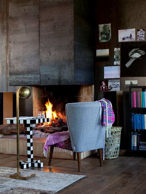 Winter woontrend 2013 2014 tartan twist mode interieur met ruiten in meubels en - Vintage woonkamer meubels ...