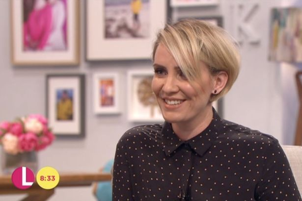 Claire Richards showed off her weight-loss on ITV's Lorraine