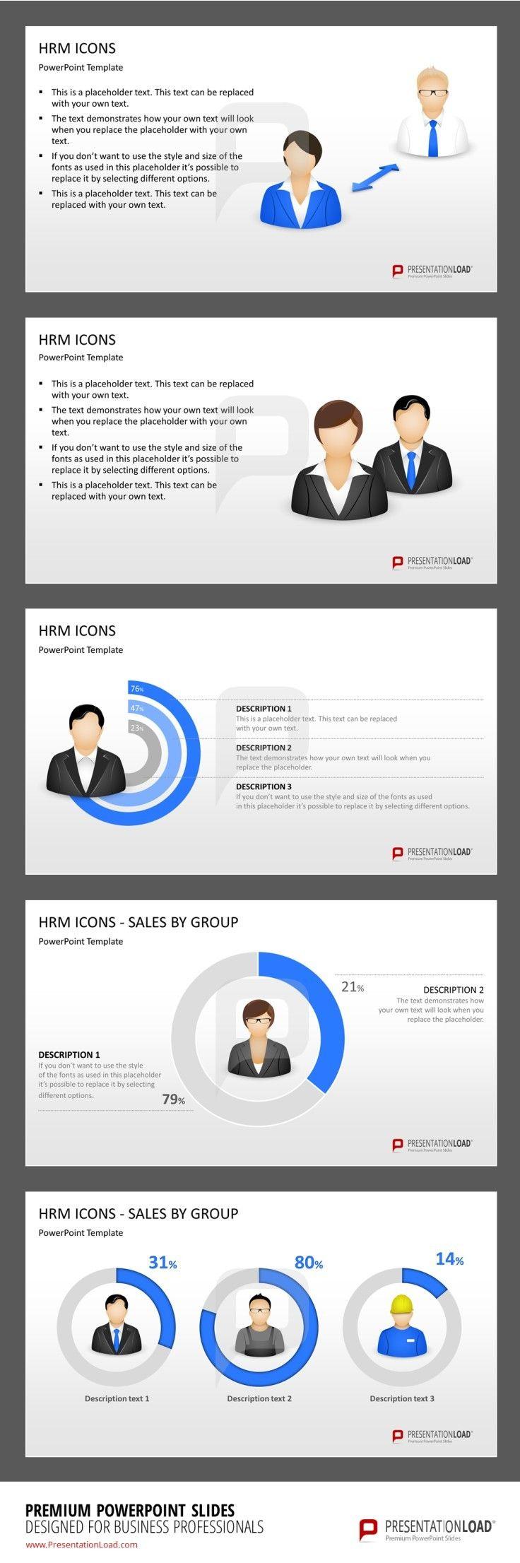 Human Resource Management PowerPoint Template  #presentationload http://www.presentationload.com/human-resource-management-hrm-models-powerpoint-template.html