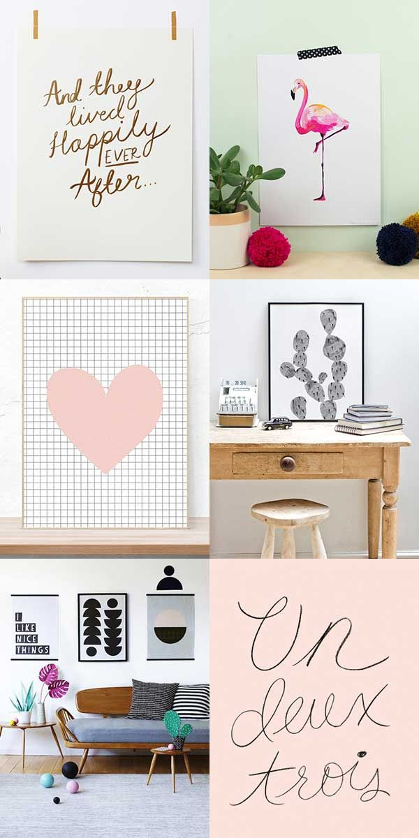 Designer prints for quick home update