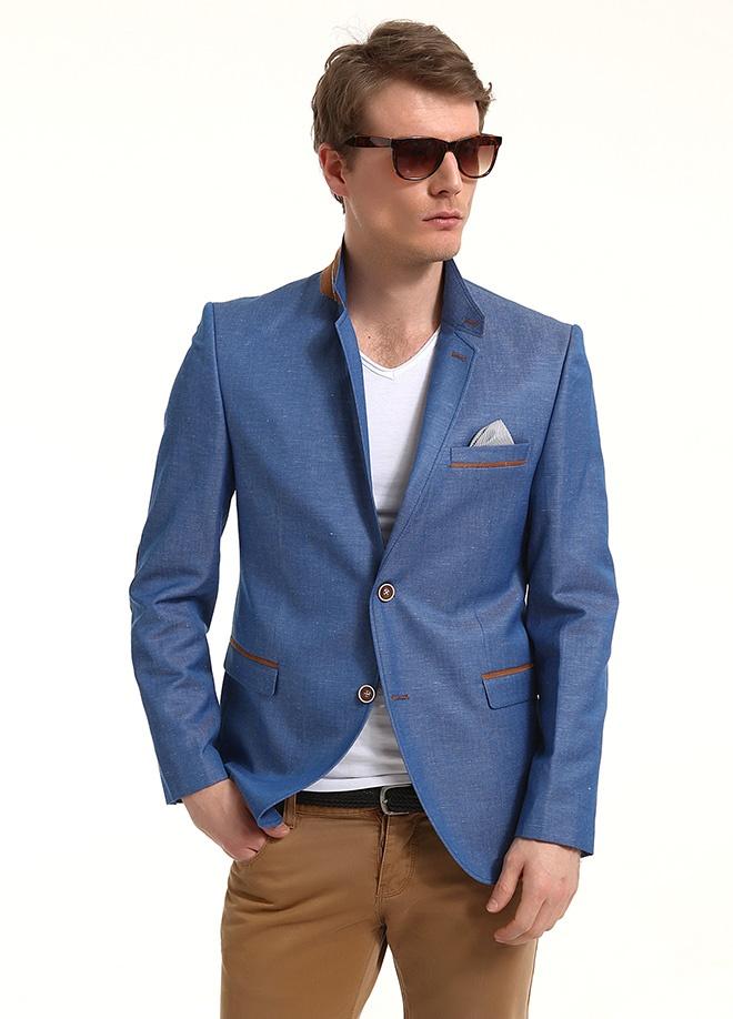 Sateen Men Pamuk keten ceket Markafonide 299,90 TL yerine 149,99 TL! Satın almak için: http://www.markafoni.com/product/3797782/