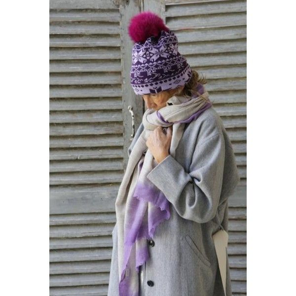 Brenner Hat In Plum Pink ($90) ❤ liked on Polyvore featuring accessories, hats, pink pom pom hat, pompom hat, pom pom hats, pink hats and bobble hat