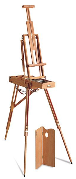 Want to get one of these French Easels Via Dick Blick.