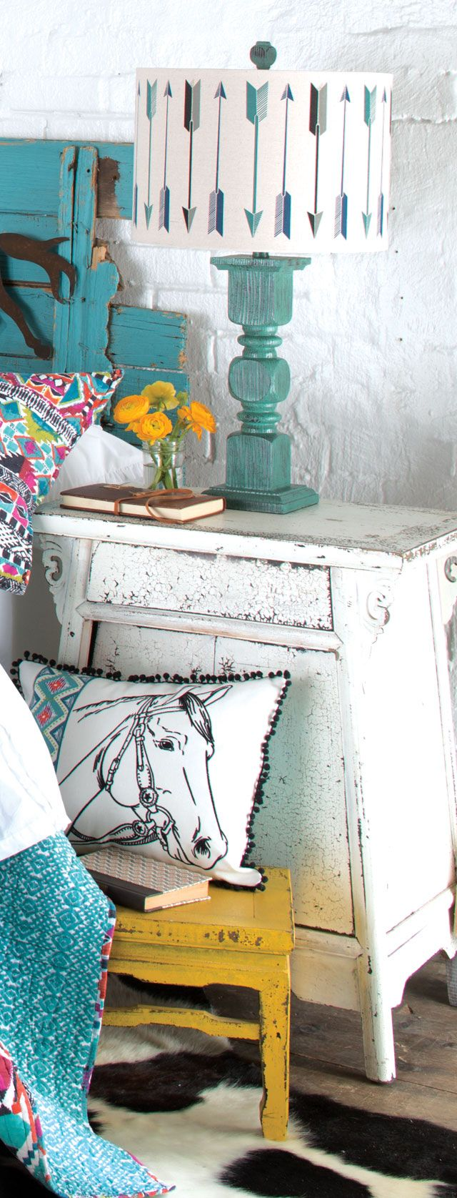 this lamp is perfect for my master bedroom room southwestern bedroomcowgirl bedroomarrow decorbedroom