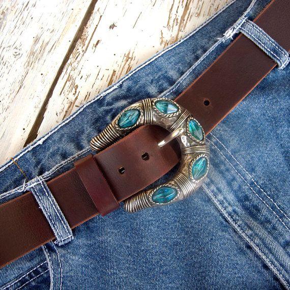 Women's leather belt Buffalo leather belt Jeans soft by JeansBelt