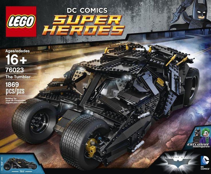 Lego Batman Superheroes Tumbler Ultimate Set NEW 1800+ PCS  #LEGO