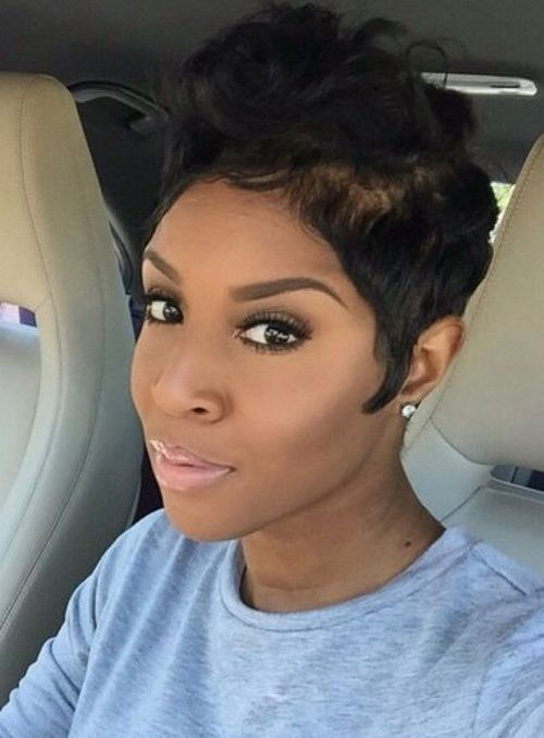 Short Curly Haircuts 2016 for Black Women