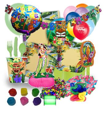 Luau party jumbo kit. It contains almost everything you need to host a