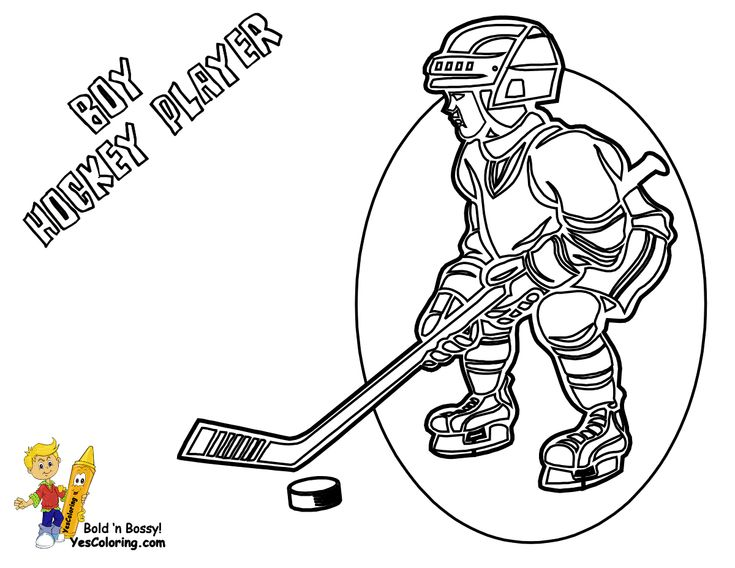Boy Hockey Player Coloring Page. You Can Print Out This #Hockey #Coloring-Page Now... http://www.yescoloring.com/images/17_hockey-gear_at_coloringkidsboys.gif