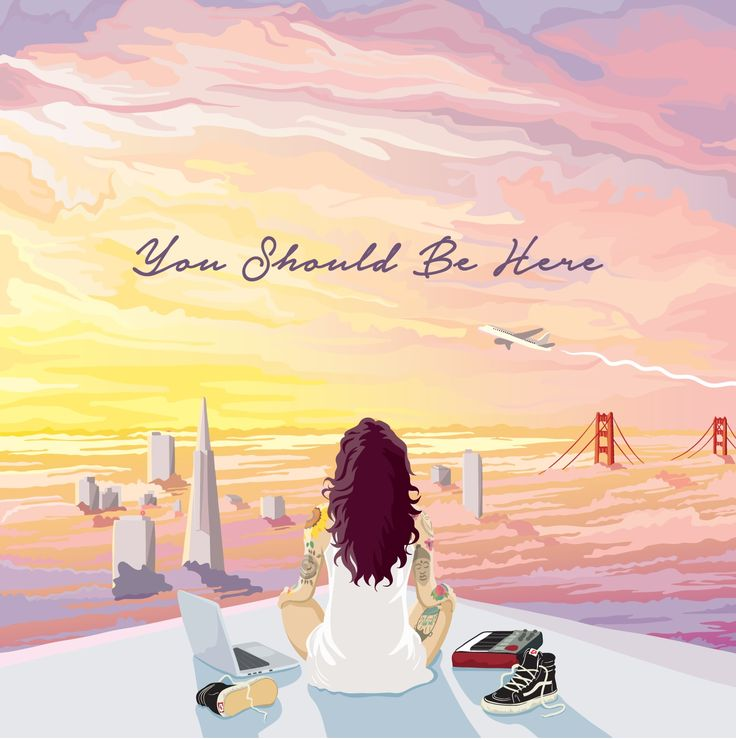 damn fine album art: You Should Be Here, by Kehlani