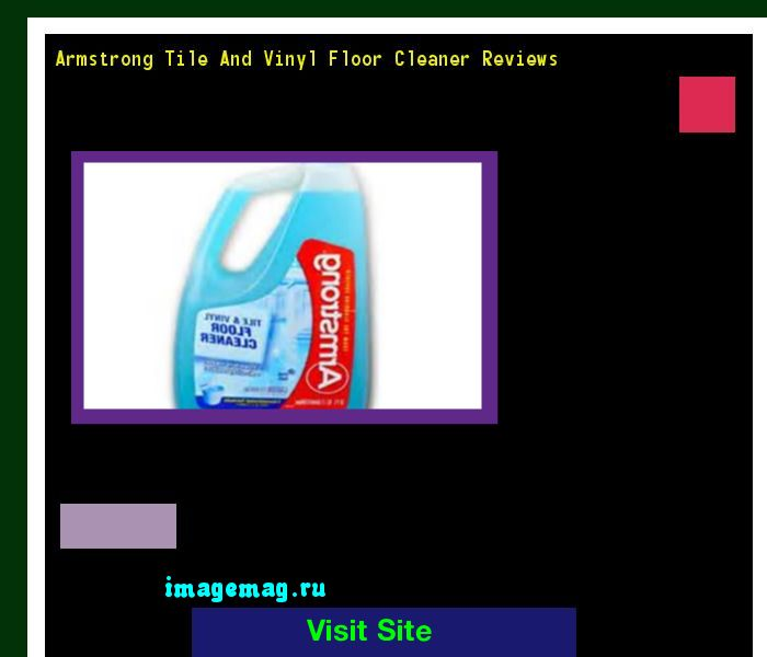 Armstrong Tile And Vinyl Floor Cleaner Reviews 080802 - The Best Image Search