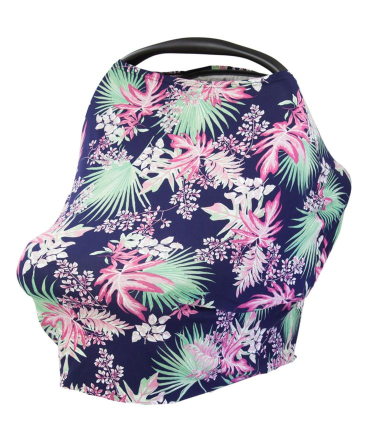 Loving this Tropical Palm Universal Car Seat & Nursing Cover on #zulily! #zulilyfinds