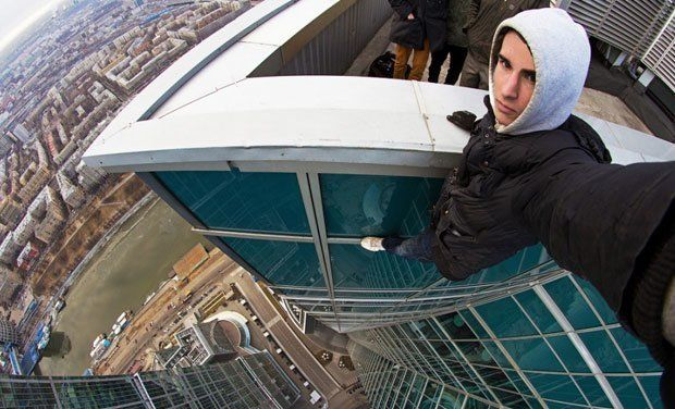 Moscow Skyscraper Selfie Most Extreme Selfies • Page 4 of 6 • BoredBug