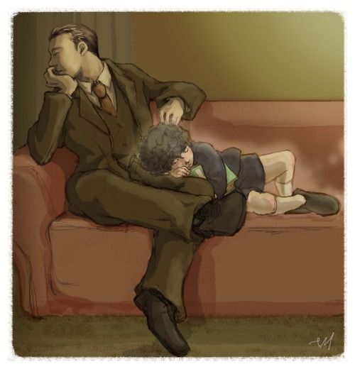 Mycroft - Alone with the Memory.This is high on the list of things that aren't okay.