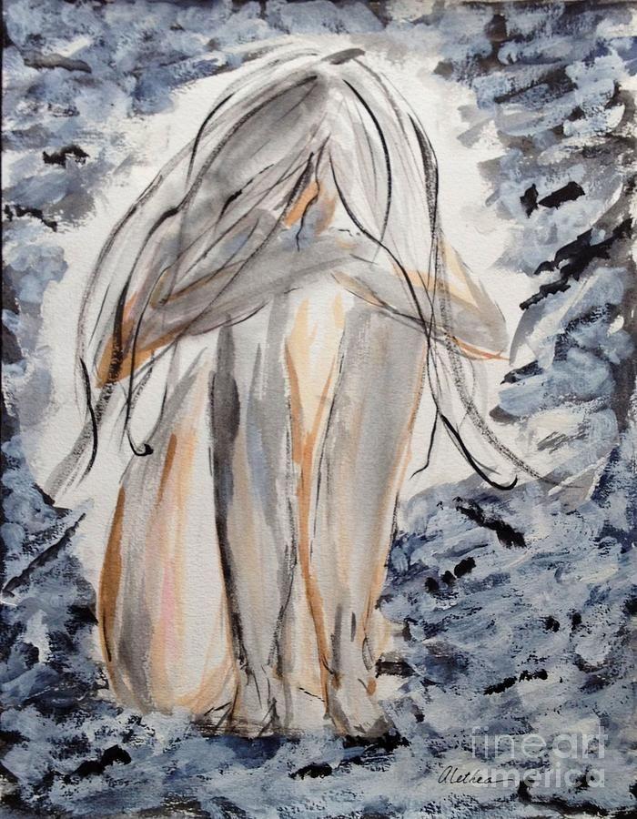 The Migraine Painting  - The Migraine Fine Art Print