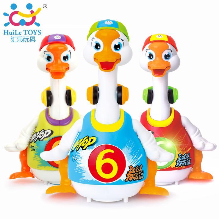 Huile toys電子玩具インテリジェントヒップポップダンス読む物語インタラクティブスイングガチョウミュージカル教育赤ちゃんのおもちゃギフト