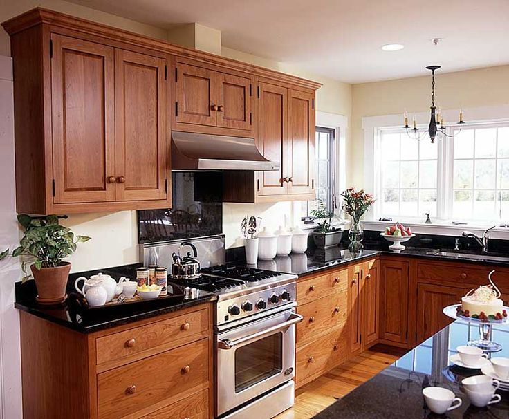 Cherry Kitchen Cabinets Images