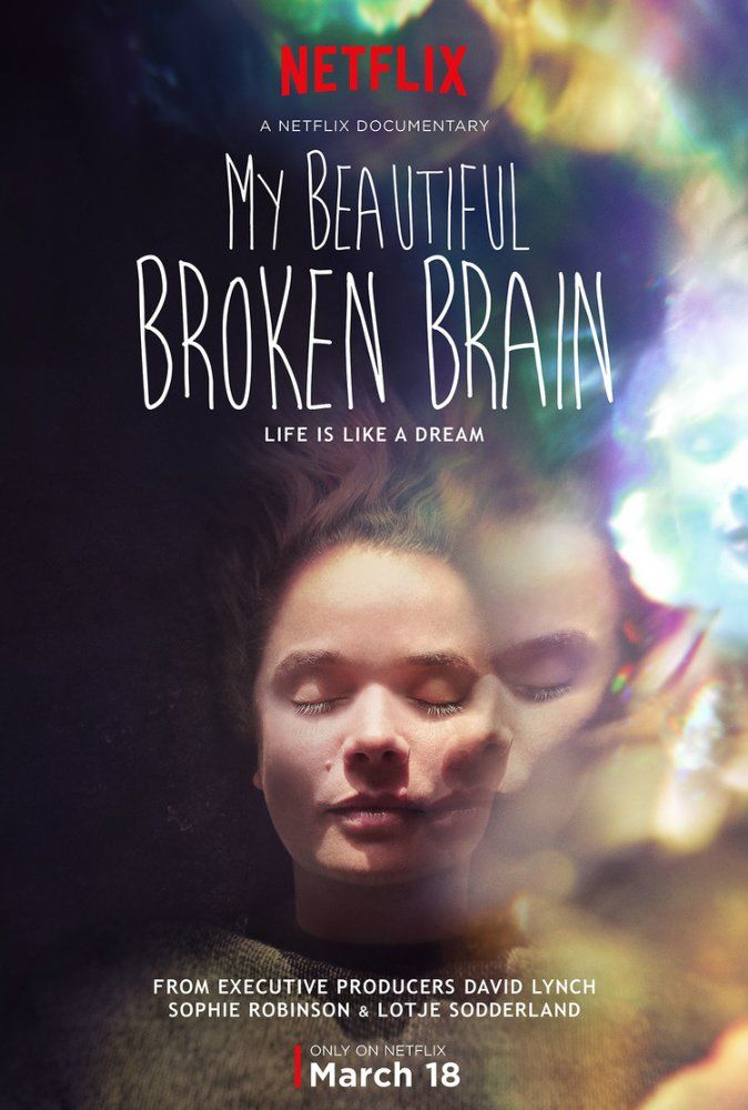 """MY BEAUTIFUL BROKEN BRAIN   """"After suffering a stroke at age 34, a woman documents her struggles, setbacks, and eventual breakthrough as she relearns to speak, read, and write."""""""