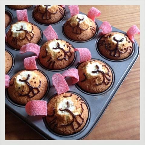 Sweet mini rabit cake - Hasenalarm!