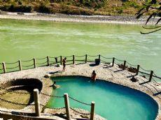 Public baths in Nujiang