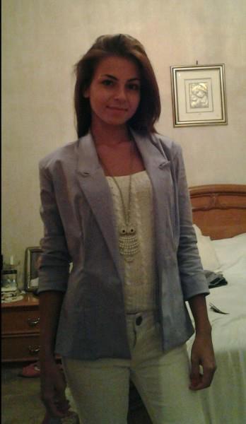 blazer classico con colletto a revers in cotone lilla.     classic blazer with lapel collar cotton purple.