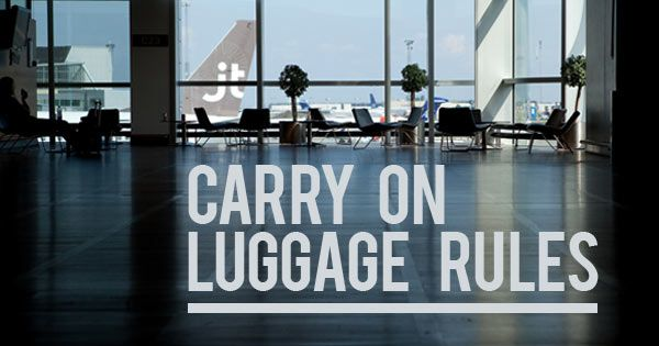 TL;DR: 1) Before flying, always check your airline's carry on luggage size and weight guidelines. A good rule of thumb is that your carry on luggage can be up to 45 linear inches (length + width + height, roughly 22 x 14 x 9 inches). The most common configuration is 22 x 14 x 9 inches. 2) Keep your luggage to under 25 pounds (10kg). 3) Your toiletries must be in 3.4 oz (100 ml) or smaller bottles. Those bottles must be in a single quart-sized, clear, plastic, zip-top bag.
