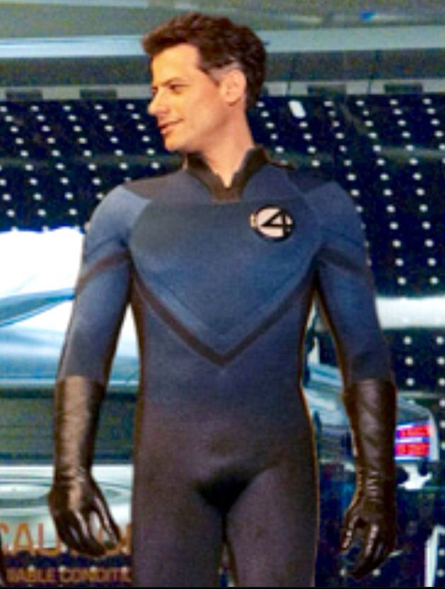 IOAN GRUFFUDD as scientist Reed Richards (2005 & 2007) - Mister Fantastic (Reed Richards) is a fictional superhero that appears in comic books published by Marvel Comics. He is a founding member of the Fantastic Four. He is the inventor of the spacecraft which was bombarded by cosmic radiation on its maiden voyage, granting the Fantastic Four their powers. Richards gained the ability to stretch his body into any shape he desires.