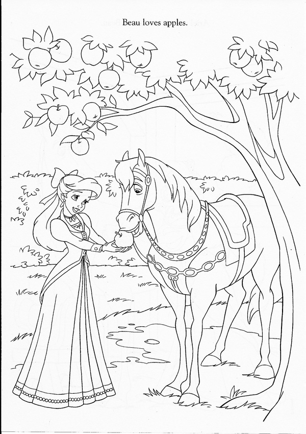 142 Best Images About Little Mermaid Colouring Page On