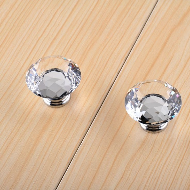 127 best Crystal Knobs Handles images on Pinterest Dresser knobs