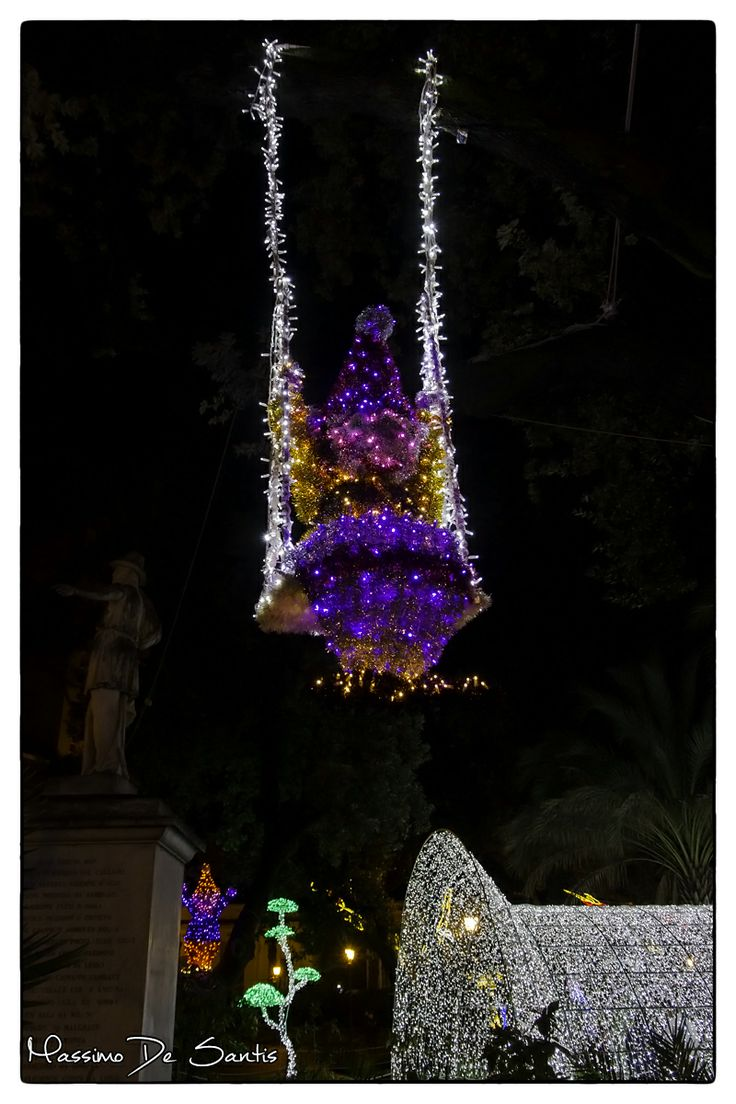 Luci d'Artista Salerno 2013 #photography #christmas #christmaslights #italy #salerno www.lucidinatale.net