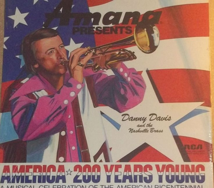 Amana Presents Danny Davis And The Nasville Brass America 200 Years Young Sealed Vinyl Record Album by RASVINYL on Etsy