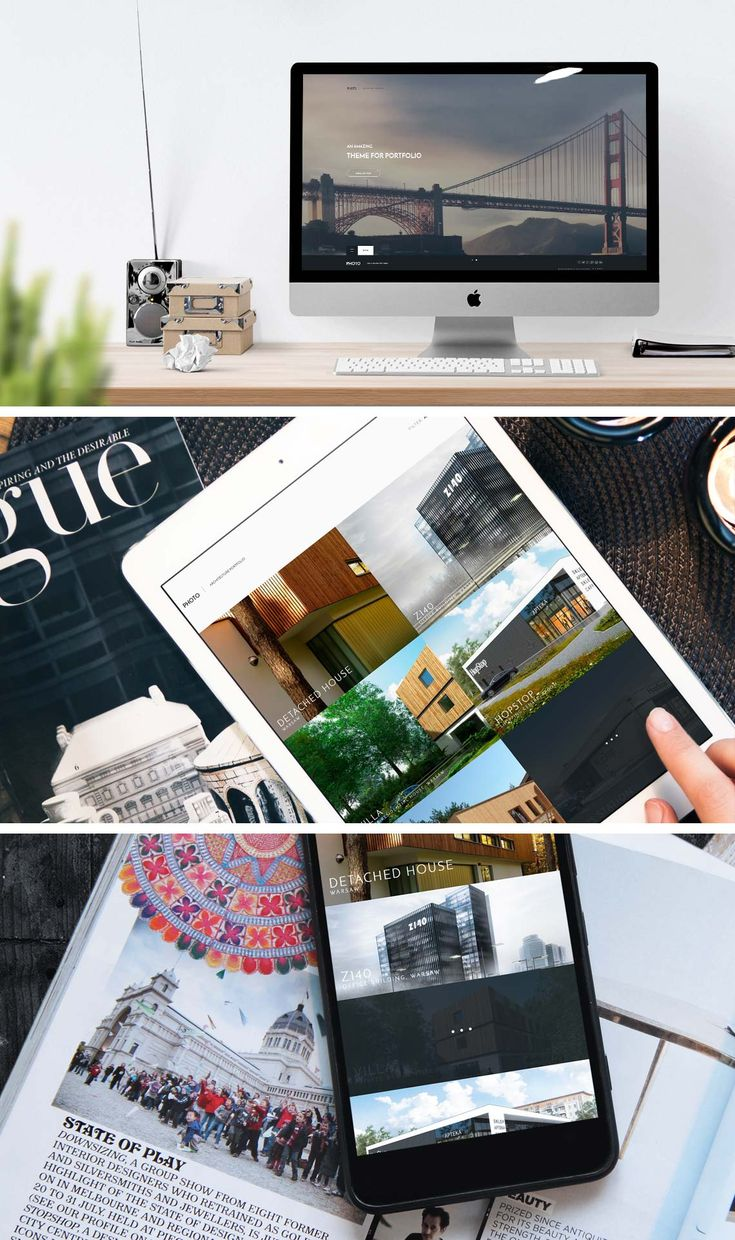 Joomla template for photographers and architects.