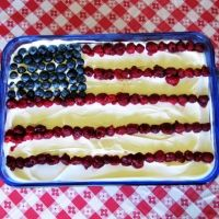 Patriotic Raspberry Pretzel Dessert  by Jeff Tracy, the Cowboy Cook  From the kitchen of Jeff Tracy, The Cowboy Cook is this refreshing and patriotic dessert! Perfect for a summer picnic!