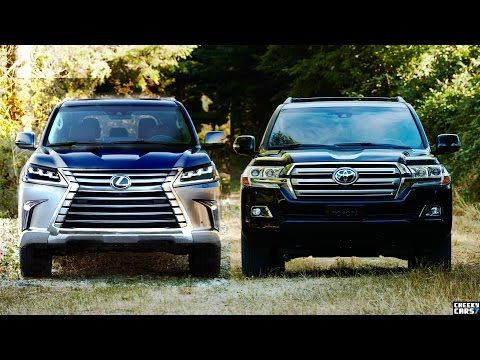 2016 Toyota Land Cruiser V8 Vs 2016 Lexus LX 570 SUVs Comparison   YouTube