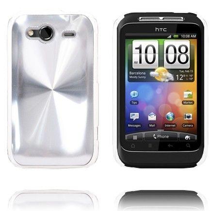 Aluminiums Shield (Sølv) HTC Wildfire S Cover