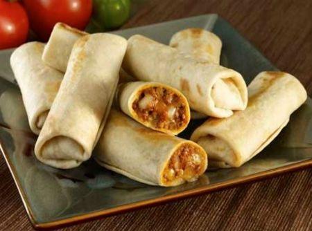 Os Burritos são uma tradição mexicana, assim como os Tacos. São servidas versões mais