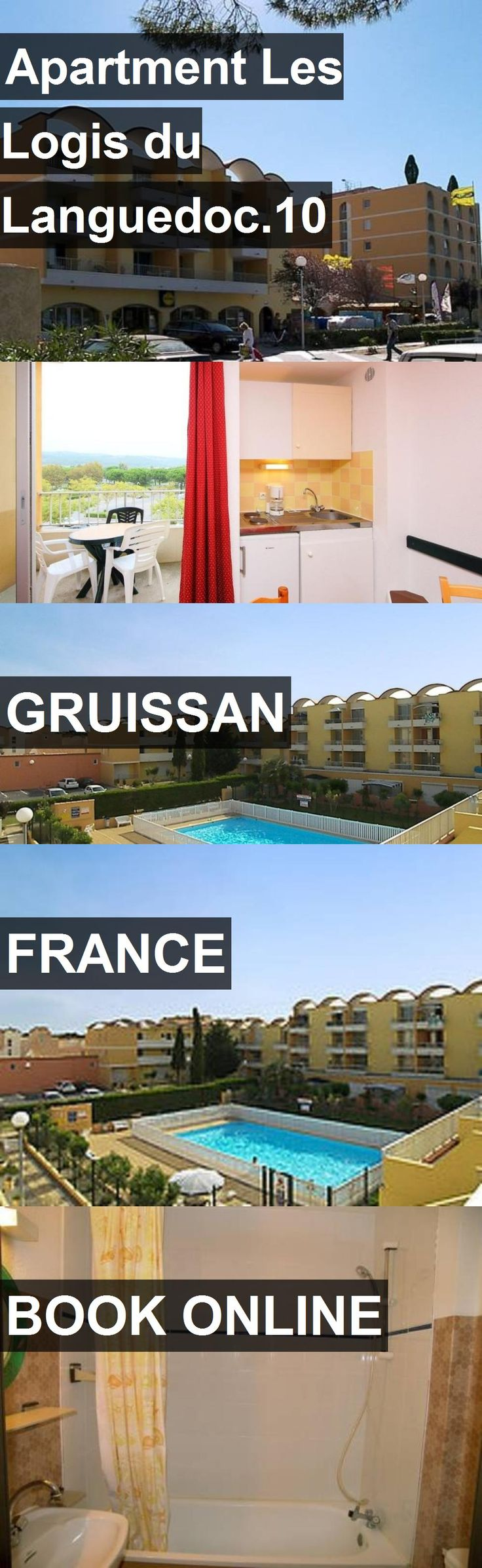 Hotel Apartment Les Logis du Languedoc.10 in Gruissan, France. For more information, photos, reviews and best prices please follow the link. #France #Gruissan #ApartmentLesLogisduLanguedoc.10 #hotel #travel #vacation