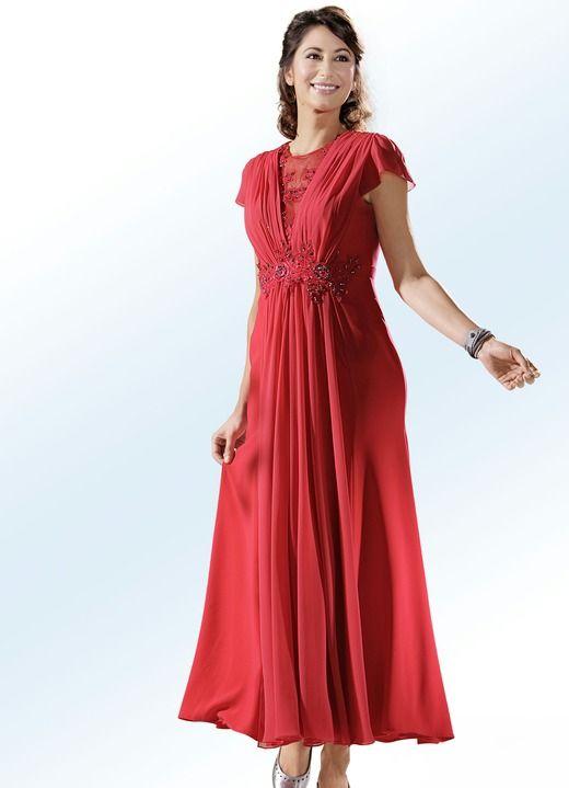 Rosa kleid rot farben