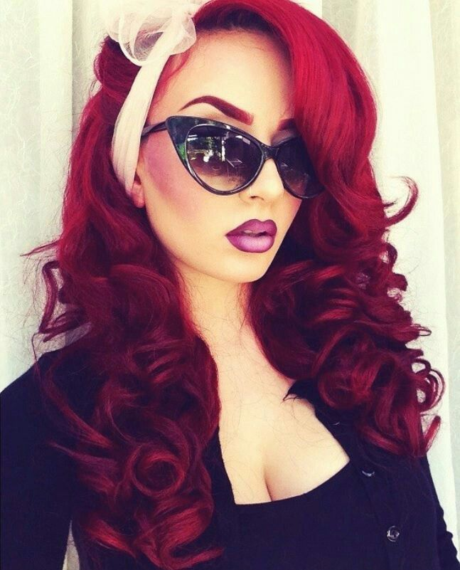 Pinup Redhair  Hair Styles I Love