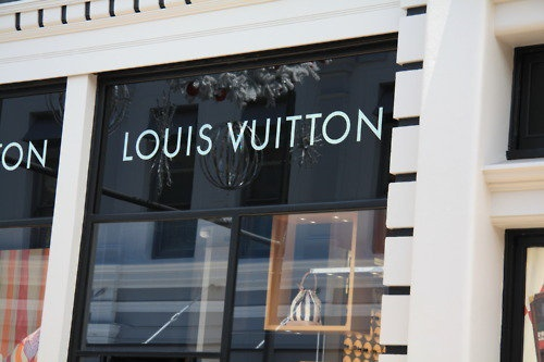Louis Vuitton. I'm going bankrupt just looking at that!