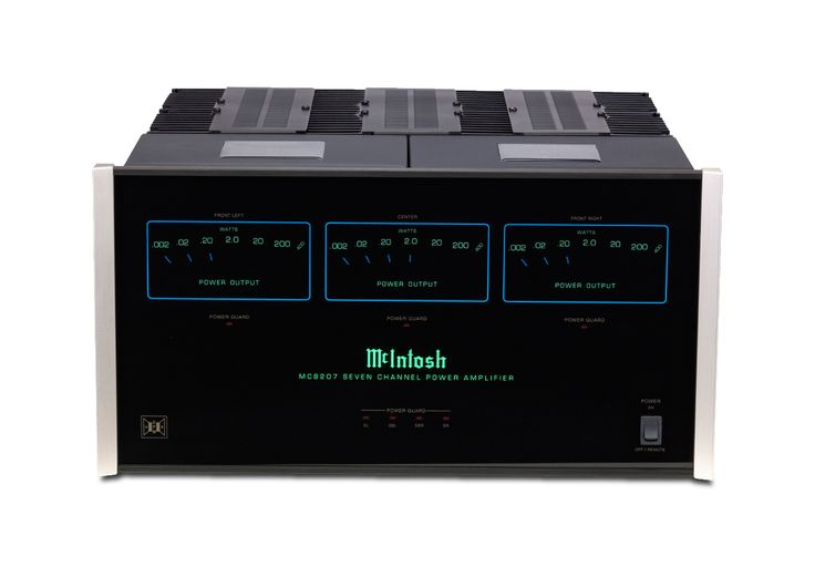 McIntosh McIntosh MC8207, 7 Channel Amplifier available at Mir Audio Video! Check us out at www.miraudiovideo.com