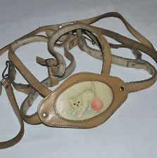 Leather walking reins 1960s - remember these - especially my sister wearing them and having a temper tantrum.