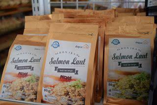 Cemilan Jajanan Oleh Olah Khas Cilacap: [PROMO] Abon Ikan Salmon Kemasan 80gr Original Kualitas Ekspor
