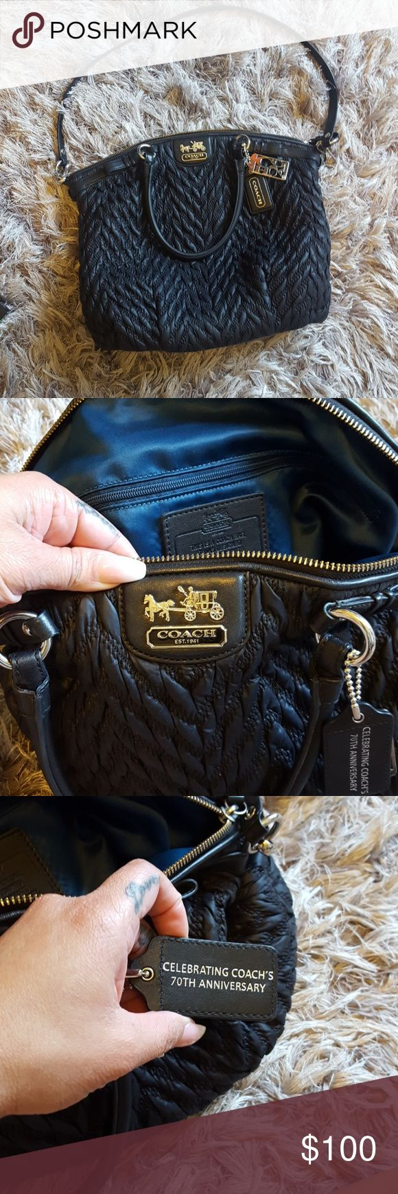 Black Coach purse Gently used Coach Bags