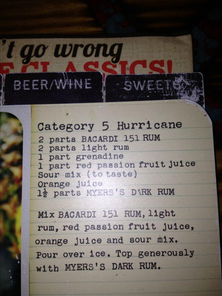 Joes Crab Shack category 5 hurricane